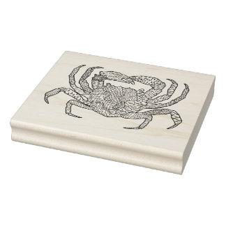Zendoodle Crab Rubber Stamp