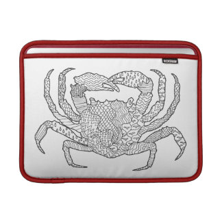 Zendoodle Crab Sleeve For MacBook Air
