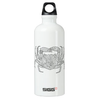 Zendoodle Crab Water Bottle