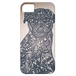 Zendoodle pug barely there iPhone 5 case