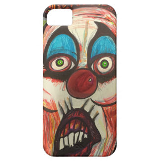Zendoodle scary clown barely there iPhone 5 case