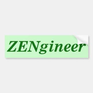 ZENgineer Bumper Sticker