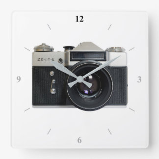 Zenith E Square Wall Clock