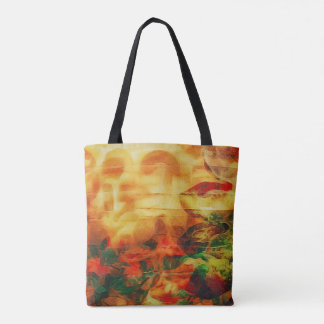 ZenKitten Mixed Media - Surreal Tote