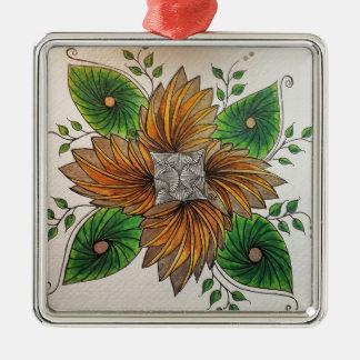 zENTANGLE INSPIRED ART - PHICOPS Ornaments