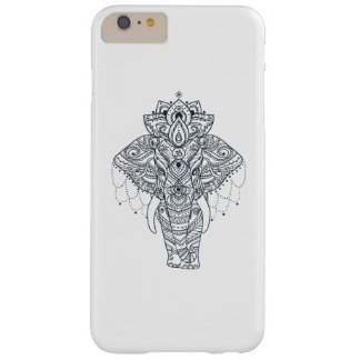 Zentangle Inspired Elephant Barely There iPhone 6 Plus Case