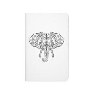 Zentangle Inspired Elephant Journal