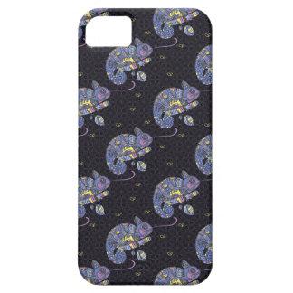 Zentangle Lizard iPhone 5 Cases