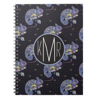 Zentangle Lizard | Monogram Notebooks
