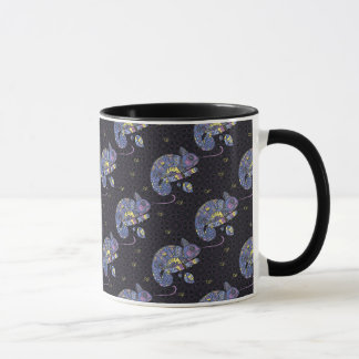 Zentangle Lizard Mug
