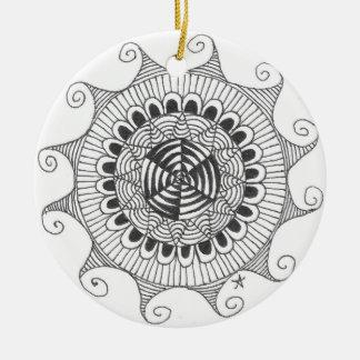 zentnagle mandala - lines ornaments