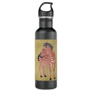 Zenya Gold Stars Liberty Bottle 24oz Water Bottle
