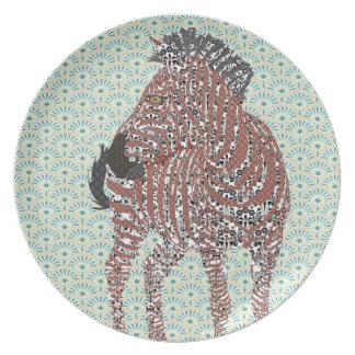 Zenya Sparkle Plate