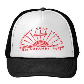 Zeppelin Adventures 1931 Polar Flight Mesh Hat