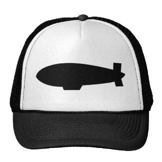 zeppelin airship icon cap
