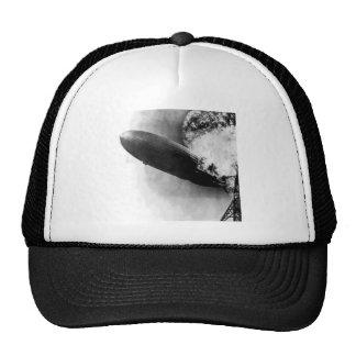 Zeppelin Burning Mesh Hats
