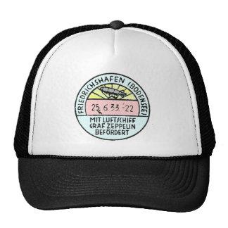 Zeppelin Design of Original Postmark Mesh Hat