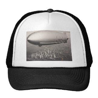 Zeppelin over New York City Hats