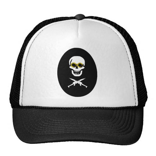 Zeppelin Pirate Ovalpng Hat