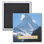 Zermatt Matterhorn, Fridge Magnet