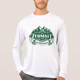 Zermatt Mountain Emblem Tee Shirts
