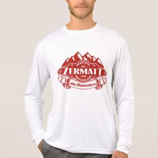 Zermatt Mountain Emblem Tshirt