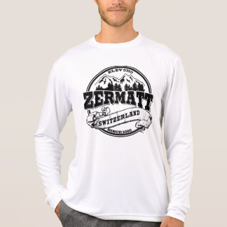 Zermatt Old Circle Black T-Shirt