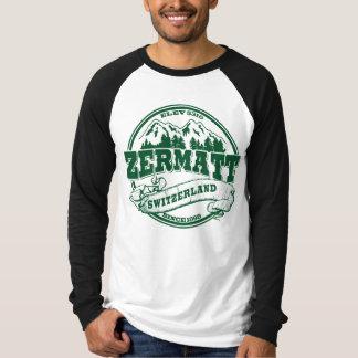 Zermatt Old Circle Green Tees