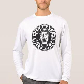 Zermatt Scream Basic Black T Shirts