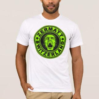 Zermatt Scream Black Lime T-Shirt
