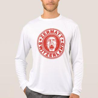 Zermatt Scream Swiss Red Tee Shirt