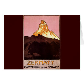 Zermatt Switzerland Card