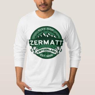 Zermatt Switzerland Forest T-Shirt