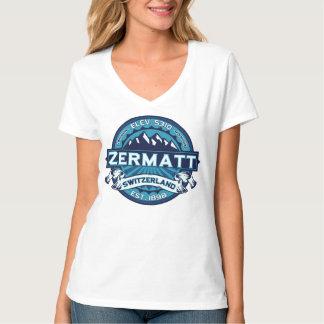 Zermatt Switzerland Ice Tee Shirt