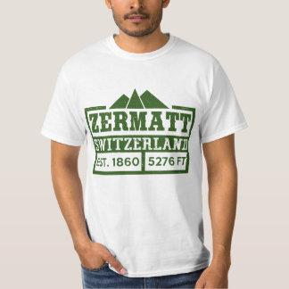 ZERMATT SWITZERLAND PARK T SHIRTS