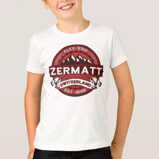 Zermatt Switzerland Red T-Shirt