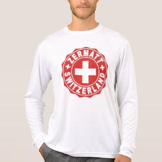 Zermatt White Cross Logo Shirt