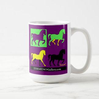 "Zermeno's ""4 Horses"" Coffee Mug"