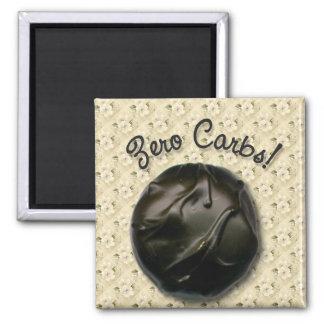 Zero Carbs Maple Cream Square Magnet