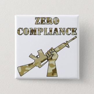 Zero Compliance AR15 Camo 15 Cm Square Badge