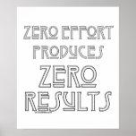 Zero Effort...2 Poster