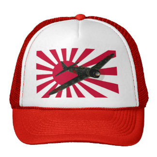 Zero Fighter Aircraft Cap