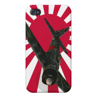 Zero Fighter Aircraft iPhone 4 Covers