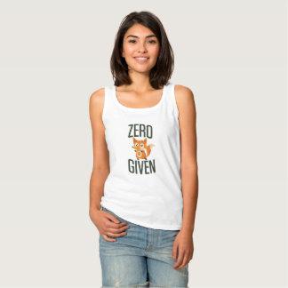 Zero Fox Given Funny Tee