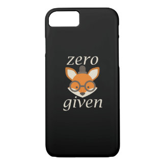 Zero Fox Given iPhone 7 Case