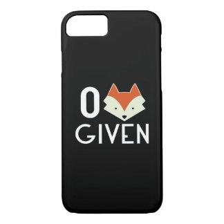 Zero Fox Given iPhone 7 Case