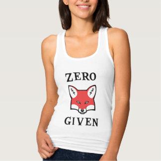 Zero (Fox) Given Tank Top