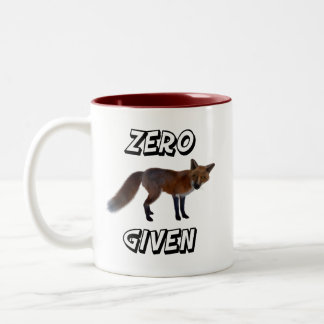 Zero Fox Given Two-Tone Coffee Mug