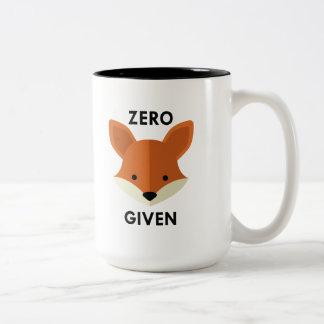 Zero Fox Given Two-Tone Coffee Mug