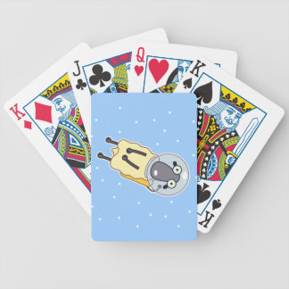 Zero Gravity Sheep Bicycle Playing Cards